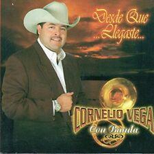 Cornelio Vega con Banda Desde que Llegaste CD New Nuevo Sealed