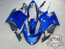 Blue Fairing ABS Set Body Kit Bodywork for Honda Blackbird CBR 1100XX 96-07
