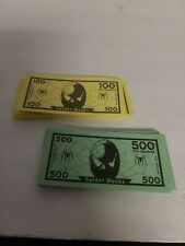 Spider-Man Operation Skill Game Replacement Parts - Paper Money 100 & 500 Bills