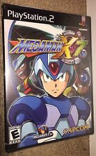Mega Man X7 BLACK LABEL NEW SEALED! RARE NON PROMO W/SSEAL! PlayStation 2 PS2