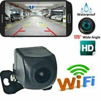 175°WiFi Wireless Car Rear View Cam Backup Reverse Camera For iPhone Android IOS