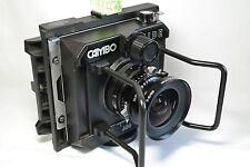 Cambo Wide 650 w/Super Angulon 65mm f5.6 + Reflex Viewing hood + 69 Roll holder