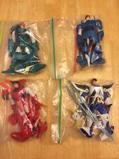 Bandai Ronin Warriors Lot Ryo, Cye, Sage, Hariel 1995 Playmates