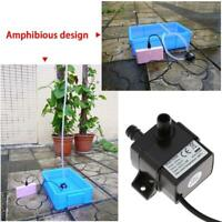 NEW Mini Micro DC Brushless Water Pump Submersible Motor Pump 6V-12V JT-160A AU
