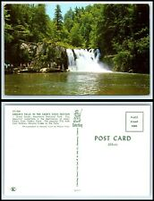 TENNESSEE Postcard-Great Smoky Mountains, Abram's Falls, Cade's Cove Section G17