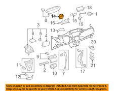TOYOTA OEM 07-11 Yaris Instrument Panel Dash-Box 5544152120B0