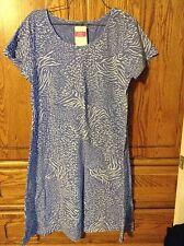 Fresh Produce Tunisia Sadie Dress Periwinkle Blue  sz XS extra small New