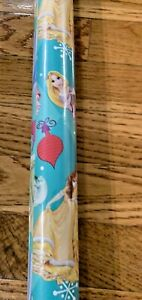 Disney Princesses  WRAPPING PAPER ROLL GIFT WRAP ANY OCCASION 20 sq Ft xmas