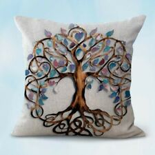 Us Seller-decorative pillow case for whole ree of life celtic knot cushion cover