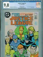1987 DC JUSTICE LEAGUE #1 1ST APP. BLACK KING CANADIAN PRICE VARIANT CGC 9.8