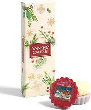 Yankee Candle Coffret cadeau Bougies de Noël parfumées 3 tartelettes de cire par
