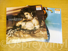 Madonna Ray of light Double Blue Vinyl Like a Virgin Clear Vinyl Sealed x 2 LP's