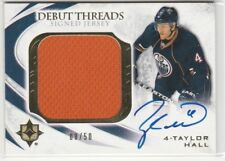 2010 10-11 Ultimate Collection Debut Threads Autographs #SDTTH Taylor Hall 8/50