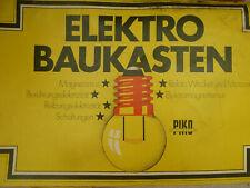 piko elektrobaukasten zubehör ersatzteile icl. 2 anleitungsbücher garagenfund