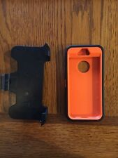 Camouflage and Blaze Orange Iphone 5/5s phone case