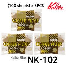 [Kalita] Paper Coffee Filter (100 Sheets)x3PCS (NK-102) 2-4 Cups Hand Drip Paper
