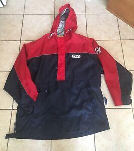COOL VINTAGE * Fila * Lightweight Jacket with Hood Adult X-Large