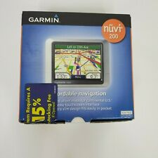 GARMIN NUVI 200 GPS Maps USA North America Maps 2008 Charger Mount bundle