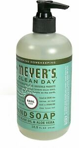 Clean Day Liquid Hand Soap by Mrs. Meyer's, 12.5 oz Basil