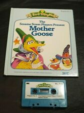 TALKING STORY MAGIC STORY IDEAL BOOK /TAPE SESAME STREET PLAYERS MOTHER GOOSE