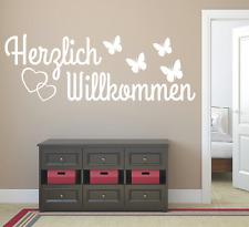 Charming Wandtattoo Spruch , Herzlich Willkommen Flur Sticker Wandaufkleber  Wandsticker 5
