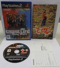 Game Console Game Sony Playstation 2 ps2 psx2 PAL Italian crime Life Gang Wars