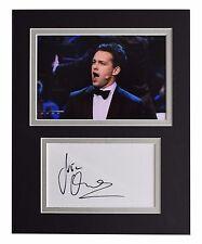Julian Ovenden Signed Autograph 10x8 photo display Music Memorabilia AFTAL & COA