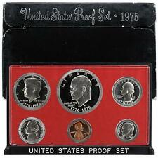 1975 S Proof Set Original Box 6 Coins Us Mint