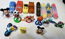 M&M, CARS, Mini Skateboard Fingerboard Mickey Mouse Collectible Toys Lot of 17
