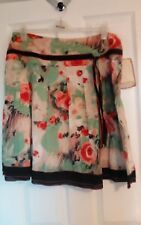 Fab Indian Cotton XL Floral Skirt By Chemistry Of New York,unworn,poss size18