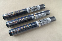 MAX FACTOR Linemaker waterproof eyeliner SEALED - LOT OF 3 - DISCONTINUED