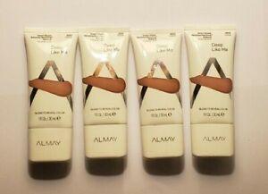 4 Almay Smart Shade Skintone Matching Makeup #500 Deep Like Me