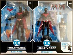 2 McFarlane DC Multiverse Batman Beyond Baf & Non-Baf 🤩🤩🤩