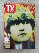 TV Guide The Beatles 2000 November 11-17, 2000 John Lennon