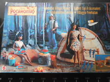 ✿  Pocahontas VILLAGGIO POWHATAN Playset Figure Accessories Disney Movie Mattel✿