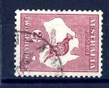 AUSTRALIA - 1931-1936 - Carta dell'Isola e Canguro. Varietà. T2320