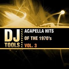 Dj Tools - Acapella Hits Of The 1970's Vol. 3 [New CD] Manufactured On Demand