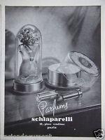 PUBLICITÉ DE PRESSE 1943 PARFUMS SCHIAPARELLI - PARIS - ADVERTISING