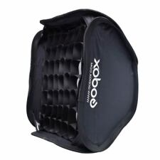 Godox 40x40cm Softbox Bag with Honeycomb Grid Kit for Studio Flash Speedlite