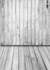 Photo Background Studio Props Vinyl 5x7FT Wood Floor Photography Backdrops QX01