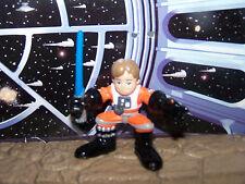 Star Wars Luke Skywalker 2007 Hasbro Galactic Heroes X-Wing Pilot Figure