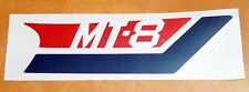 Label Aufkleber Emblem Sticker Seitendeckel rechts cover right Honda MT 8 80