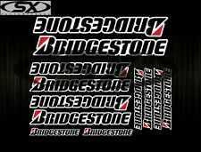 Set Of 12 Bridgestone Stickers Decals Aufkleber Adesivi