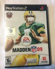EA Sports MADDEN NFL 09, Playstation 2,  Brett Favre on Cover, Unopened.