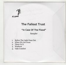 (GU598) The Fallout Trust, In Case Of The Flood sampler - DJ CD