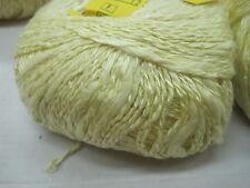 Natur wolle zum stricken strickwolle| gelb 500gr baum/Vis Effektgarn stricken
