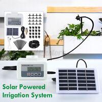Garden Solar Powered Self-Watering Automatic Drip Irrigation System Sprinkler
