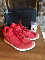 Nike Air Jordan 1 Mid Red Sneakers Shoes 554724-125  Sz 8.5 Men's With Box 🔥🔥
