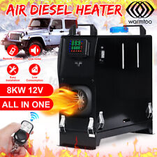 Warmtoo All In One 12V 8KW Diesel Air Heater LCD Thermostat Car Trucks Boat 2020