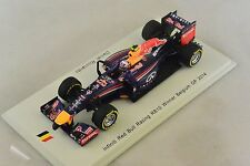 Spark - INFINITI Red Bull Racing RB10 1er GP F1 Belgique 2014 Ricciardo 1/43